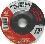 Pearl Abrasive T-27 Silicon Carbide Premium Depressed Center Grinding Wheel 25ct Case C24S Grit 4 1/2 x 1/4 x 7/8 DM4510