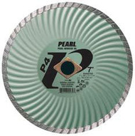Pearl Abrasive P4 Waved Core Diamond Turbo Blade 4 x .070 x 20mm- 5/8 Adapter DIA004SD
