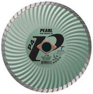 Pearl Abrasive P4 Waved Core Diamond Turbo Blade 7 x .080 x 7/8 DIA- 5/8 Adapter DIA007SD