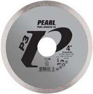 Pearl Abrasive P3 Diamond Blade for Tile 4 x .060 x 20mm- 5/8 Adapter DIA04CBL