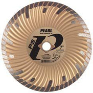 Pearl Abrasive P5 Waved Core Diamond Turbo Blade 5 x .080 x 7/8- 5/8 Adapter DIA05SDG