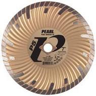 Pearl Abrasive P5 Waved Core Diamond Turbo Blade 7 x .080 x 7/8 DIA- 5/8 Adapter DIA07SDG