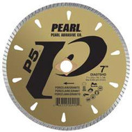 Pearl Abrasive P5 Diamond Blade for Porcelain and Granite 8 x .070 x DIA- 5/8 Adapter DIA08SHD
