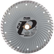 Pearl Abrasive P3 Waved Core Diamond Turbo Blade 4 1/2 x .080 x 7/8- 5/8 Adapter DIA45SDZ