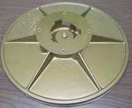 Pearl Abrasive Hexpin Floor Preparation System 16 inch Sanding Plate Attachment BUFSPL16