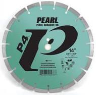 Pearl Abrasive P4 Segmented Diamond Blade for Concrete and Masonry 14 x .110 x 1, 20mm LW1411CP