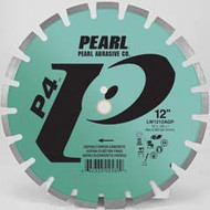 Pearl Abrasive P4 Segmented Diamond Blade for Asphalt and Green Concrete 14 x .125 x 20mm LW1412AGP2