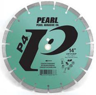 Pearl Abrasive P4 Segmented Diamond Blade for Concrete and Masonry 14 x .125 x 1, 20mm LW1412CP