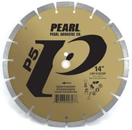 Pearl Abrasive P5 Segmented Diamond Blade for Concrete and Masonry 14 x .125 x 1, 20mm LW1412CSP