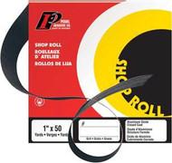 Pearl Abrasive Aluminum Oxide Premium Shop Roll A50 Grit 1 1/2 x 50 yards SR2050