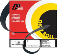Pearl Abrasive Aluminum Oxide Premium Shop Roll A80 or A100 Grit 1 1/2 x 50 yards SR2080, SR2100