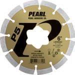 Pearl Abrasive P5 Early Entry Diamond Blade Kit for Green Concrete 6 x .250 star arbor LW0062GC