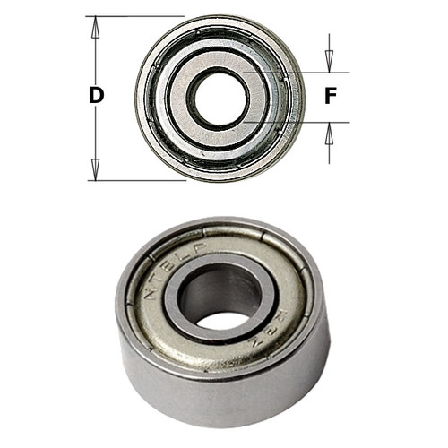 CMT Orange Tools Bearing 1/2 x 3/16 x 5mm 791.003.00