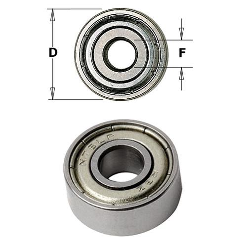 CMT Orange Tools Bearing 3/4 x 1/2 x 4mm 791.011.00