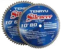 Tenryu Silencer Series for Wood 12 x 80T x 1 SL-30580