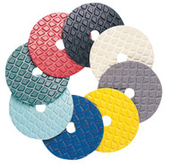 "Pearl Abrasive Resin Diamond Disc Polishing Pads 4"" 500 grit Yellow SPD4500"
