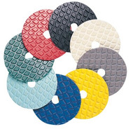 Pearl Abrasive Polishing Pad- Hook and Loop 4 x 5/8-11 PAD458