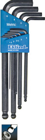 Ecklind 9 pc Long Series Ball-Hex-L™ Key Set with Holder 1.5-10 MM 13609