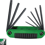 Ecklind 8 pc Torx® Series Ergo-Fold™ Fold-up Set with Ergonomic Handle T8-T40 25581