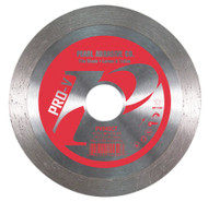 Pearl Abrasive P2 Pro-V Diamond Blade for Tile 4 1/2 x .060 x 7/8, 5/8 arbor PV045CT