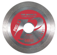 Pearl Abrasive Pro-V Series Small Diameter Tile Blade 4 x .060 x 20mm-5/8 PV004CT