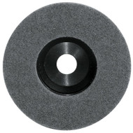 Pearl Abrasive Surface Preparation Wheel 4 1/2 x 7/8 Grey Super Fine Grit 10 Count Box NW45GSF