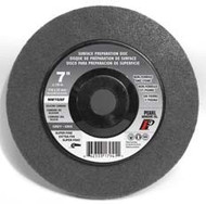 Pearl Abrasive Surface Preparation Wheel 7 x 7/8 Grey Super Fine Grit 10 Count Box NW7GSF