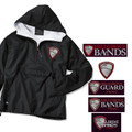 Adult Sized Flannel Lined Wind Jacket with HILLGROVE BANDS  Embroidered Design