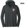 Men's Perfect Lightweight Long  Sleeve Hoodie with Embroidered HILLGROVE BANDS Crest