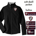 Ladies' Full Zip Soft Shell Jacket  with HILLGROVE BANDS Embroidered Design