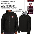 Adult Sizing WATERPROOF Full Zip Lined Jacket with Embroidered HILLGROVE BANDS Logo Choice