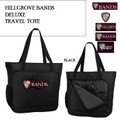 Large Travel Tote with Embroidered HILLGROVE BANDS Logo Choice
