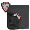 Fleece & Nylon Stadium Blanket with HILLGROVE BANDS Embroidered Crest
