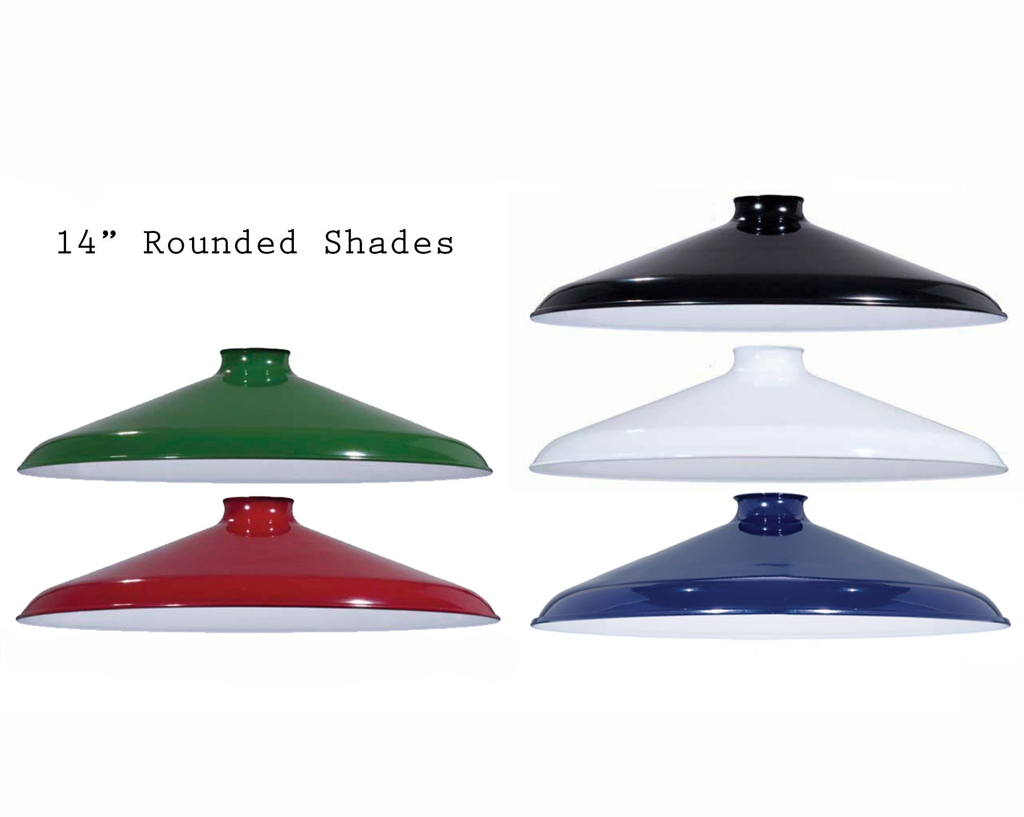 Enamel Pendant Shades Now Available In More Sizes Snake