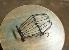 Unfinished Steel Wire Bulb Cage, Clamp On Lamp Guard