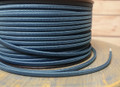 Teal Blue Parallel (Flat) Cloth Covered Wire, Nylon