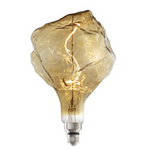 Grand Nostalgic Natural Collection - Iceberg Shape, 4w LED Oversized Light Bulb