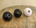 Vintage Style Acorn & Oak Leaf Electrical Plug - Bakelite Replica