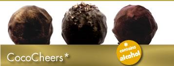 gluten free chocolate, truffles, chocolate gifts, alcohol