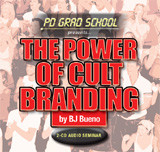 THE POWER OF CULT BRANDING BJ Bueno Audio Seminar 2 CDs