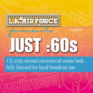 JUST 60s ROYALTY FREE COMMERCIAL MUSIC BEDS mp3 download