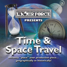 TIME & SPACE TRAVEL Royalty free commercial music for international spots and for every decade going back to the 1890s!