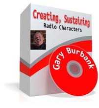 Gary Burbank,radio characters,Earl Pitts,Gilbert Gnarley,WLW,Cincinnati radio,radio comedy,radio voices,voice acting,voice actor,comedy writing