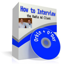 This demonstration by Dick Orkin & Dan O'Day of how to interview a new radio advertising client offers an eye-opening lesson for radio account executives.