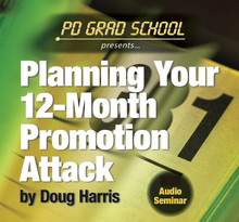 Planning Your 12-Month Radio Promotion Attack by Doug Harris. Instant mp3 download.