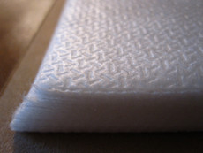 PolyMesh [No Show] Cutaway Stabilizer Backing  8 inch x 8 inch pre-cut square sheets