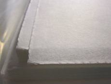 TearAway Stabilizer or Backing 15 inch x 15 inch pre-cut square sheets WHITE