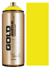 Montana Gold Artist Spray Paint  Brimstone