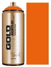 Montana Gold Artist Spray Paint  Orange