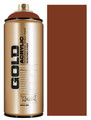 Montana Gold Artist Spray Paint  Orange Brown
